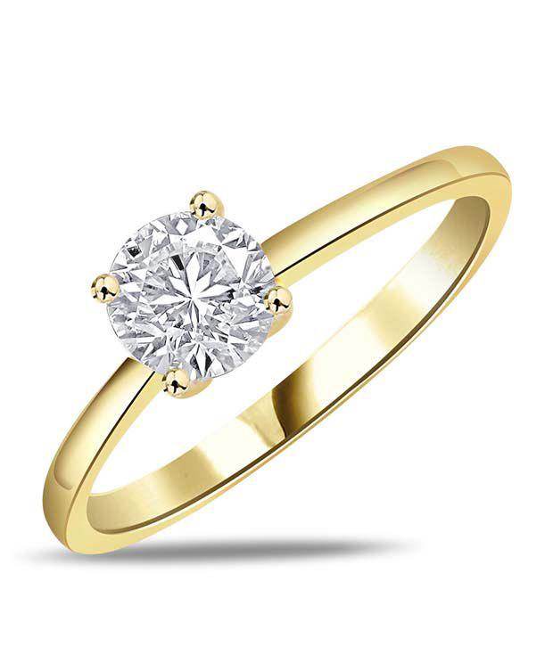 Sparkles Ravishing Yellow Gold Ring