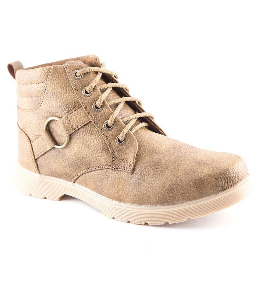 Macoro Cowboy Beige Boots