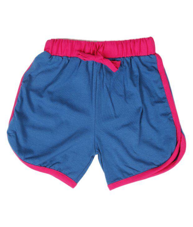 Robinbosky Catchy Royal Blue Shorts For Kids