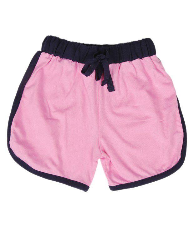 Robinbosky Showy Light Pink Shorts For Kids