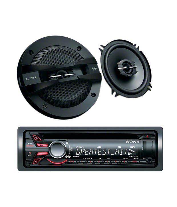 sony cdx gtu car stereo xs gtf   coaxial speaker buy sony cdx gtu car