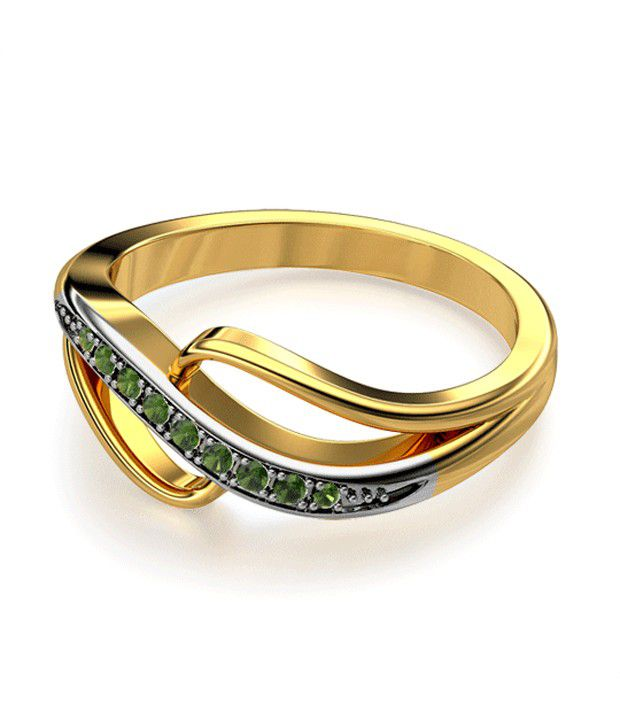 The Calliope 18Kt Real Gold & Diamond Ring