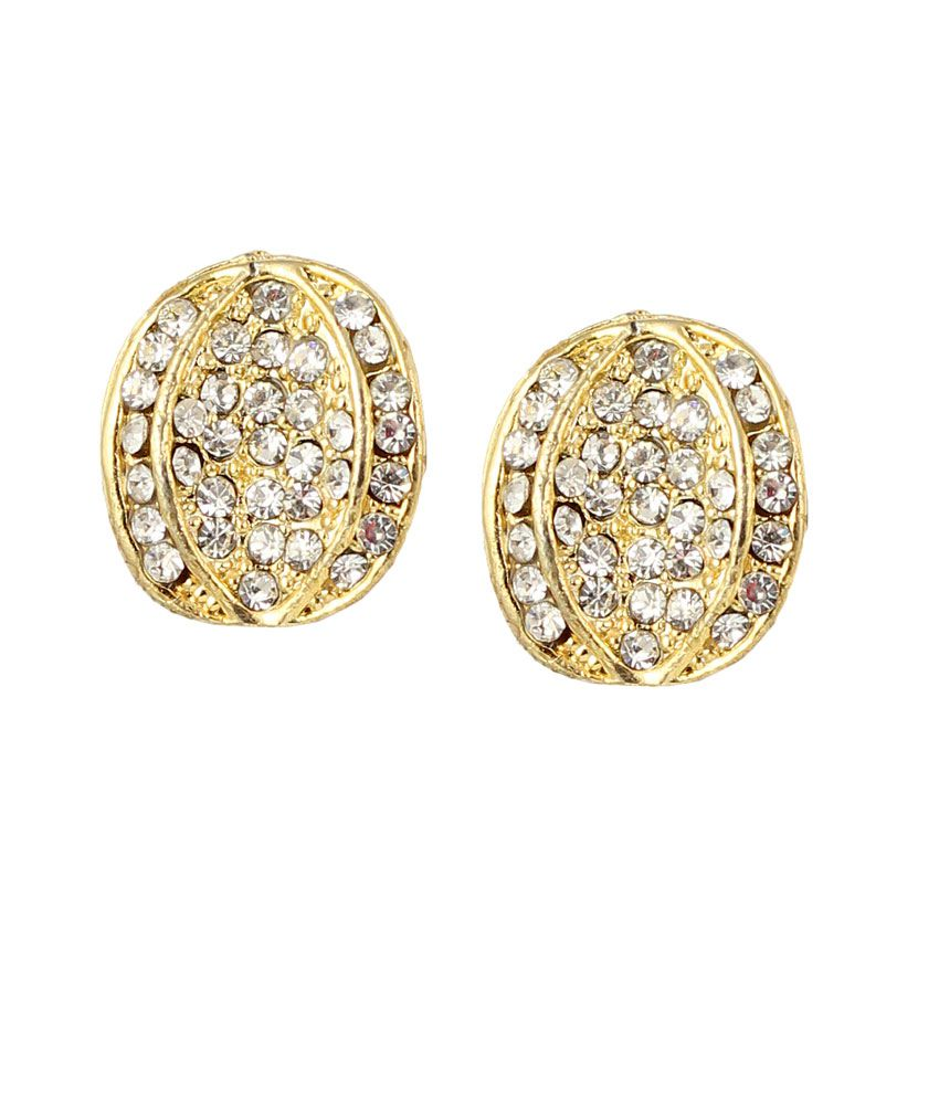 f8519c094 Touchstone Gold Plated Indo Western Earring - Buy Touchstone Gold Plated Indo  Western Earring Online at Best Prices in India on Snapdeal