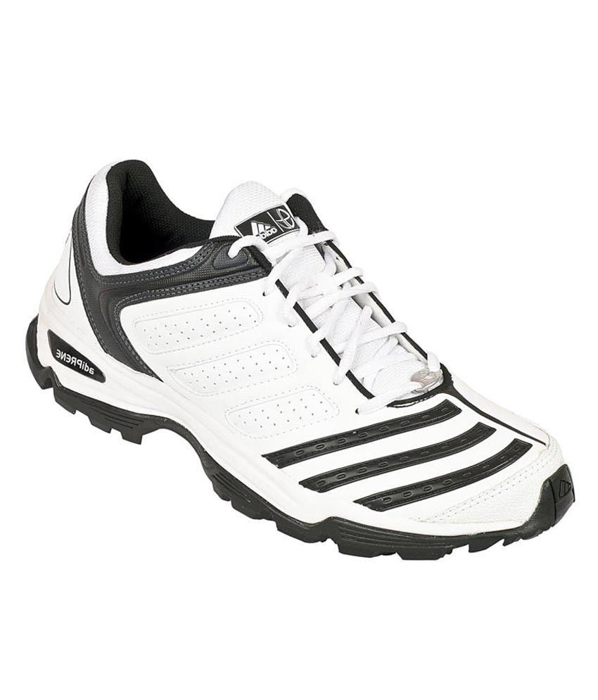 adidas 22 metri white & black sport shoes