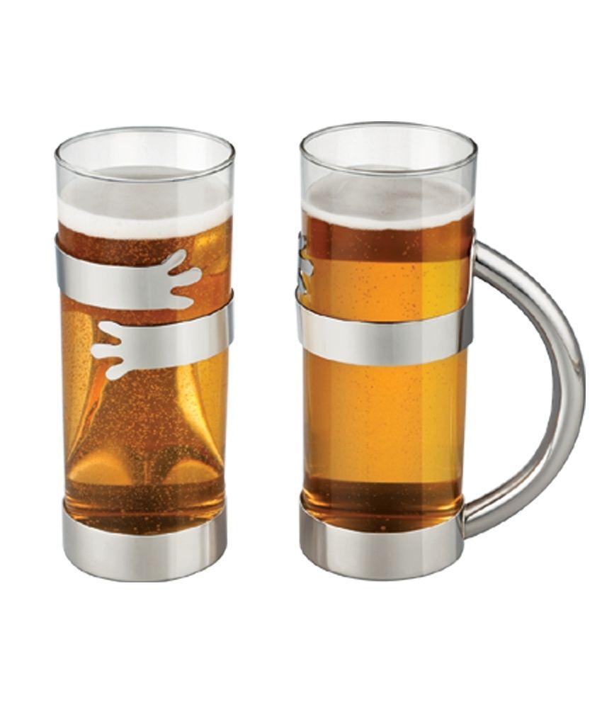 32% OFF on Arttdinox 2 Piece Beer Mug on Snapdeal | PaisaWapas.com