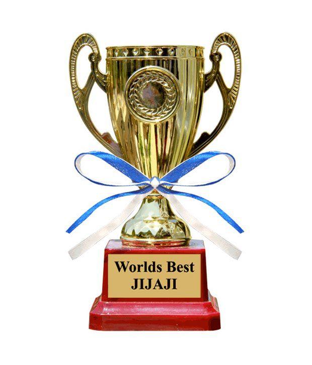 Everyday Gifts Worlds Best Jijaji Trophy Buy Everyday Gifts Worlds