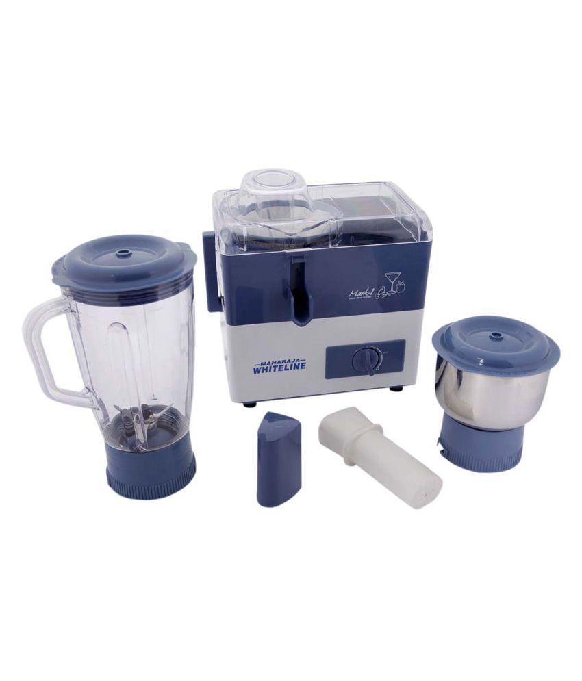 6810b1a6c88 Maharaja Whiteline Juicer Mixer Grinder Mark 1 - JX-201 Price in India -  Buy Maharaja Whiteline Juicer Mixer Grinder Mark 1 - JX-201 Online on  Snapdeal