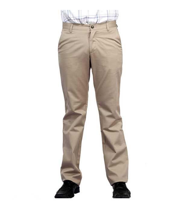 Monte Carlo Beige Men's Trouser