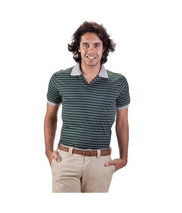 Proline Green Polo T Shirt
