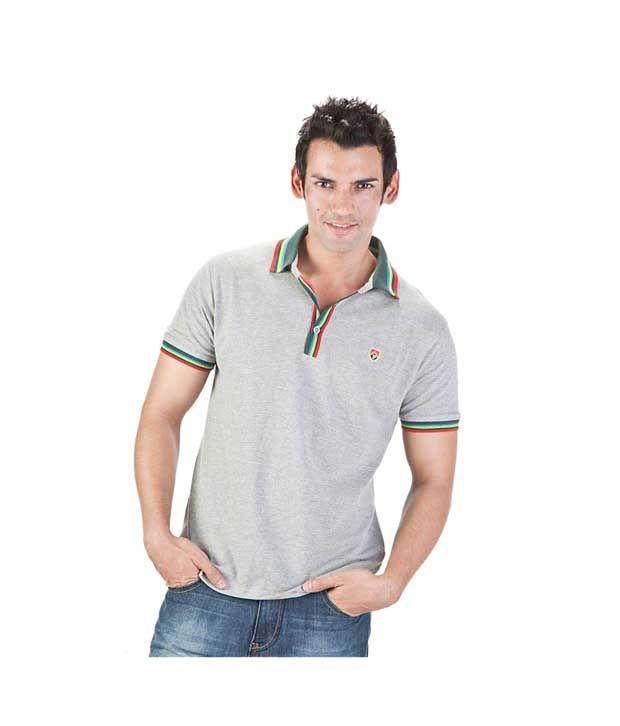 Proline Grey Polo T Shirt
