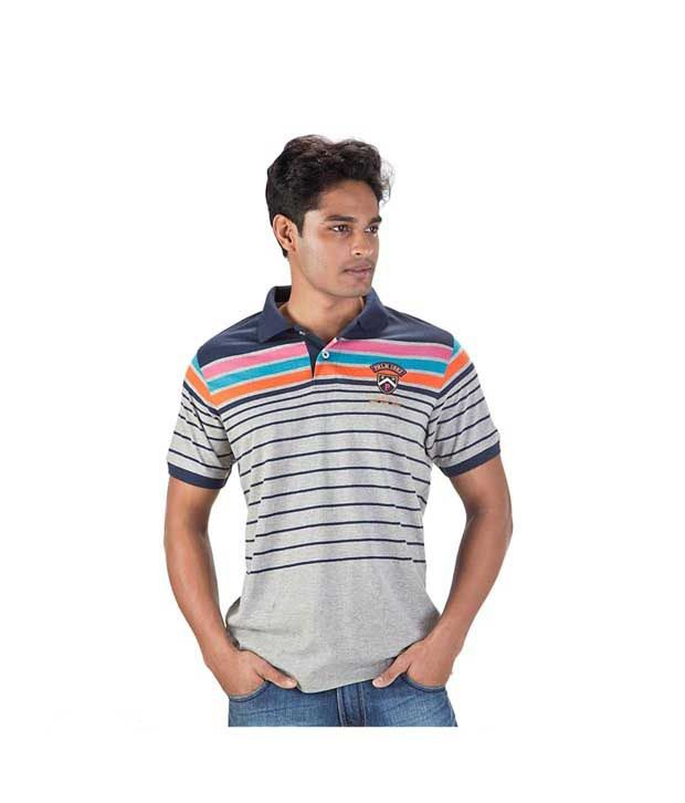 Proline Grey Polo T Shirt