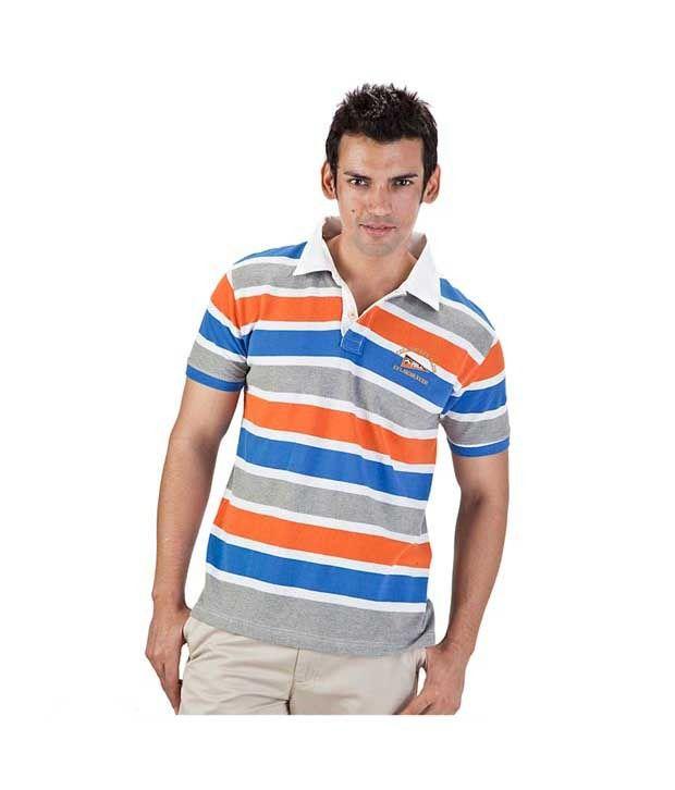 Proline Orange Polo T Shirt