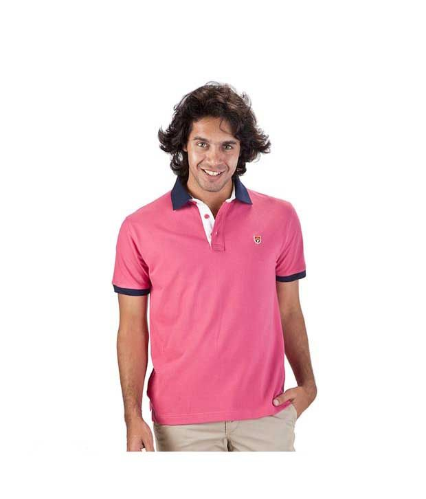 Proline Pink Polo T Shirt