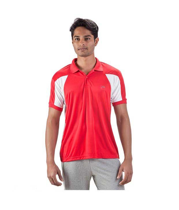 Proline Red Polo T Shirt