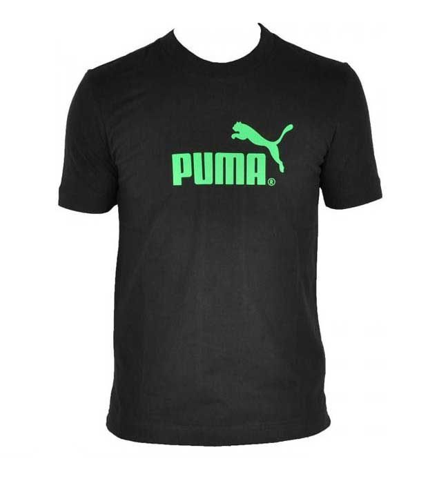 Puma Elegant Black Men's T-Shirt