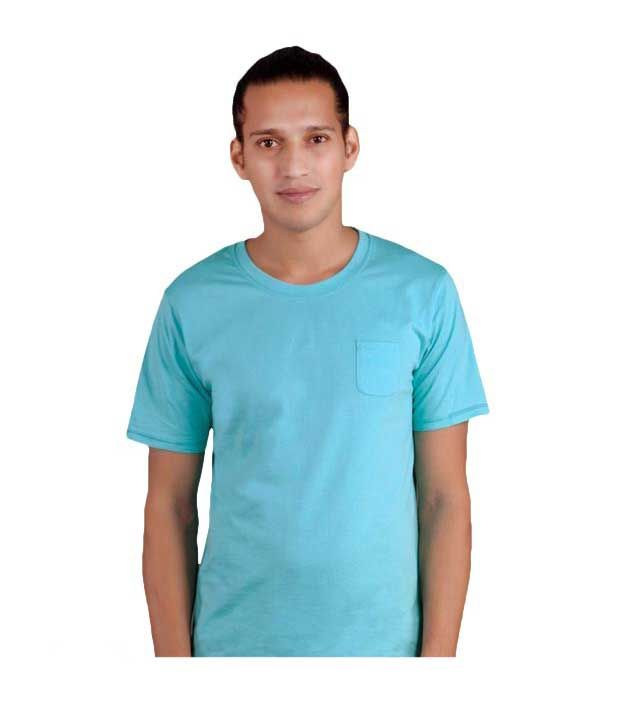 FREECULTR Blue Curacco Slim  Fit T-Shirt