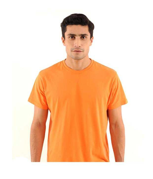 FREECULTR Sun Orange Regular Fit T-Shirt