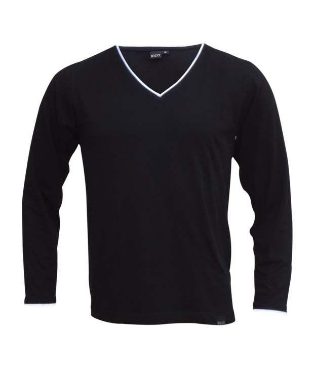 Rigo Black T-Shirt