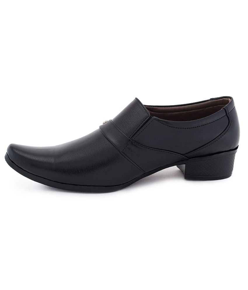 Adam Step Black Formal Shoes Price in India- Buy Adam Step Black ...