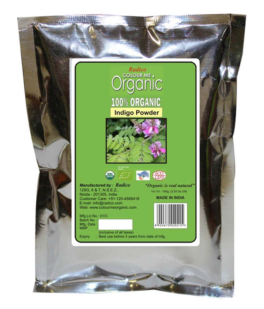 Colour Me Organic Indigo Powder 100g Pack Of 2 Buy