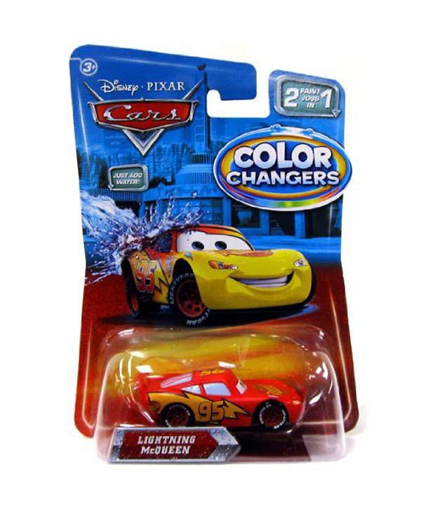 Mattel Disney Color Changer Lightning SDL 1 c0646