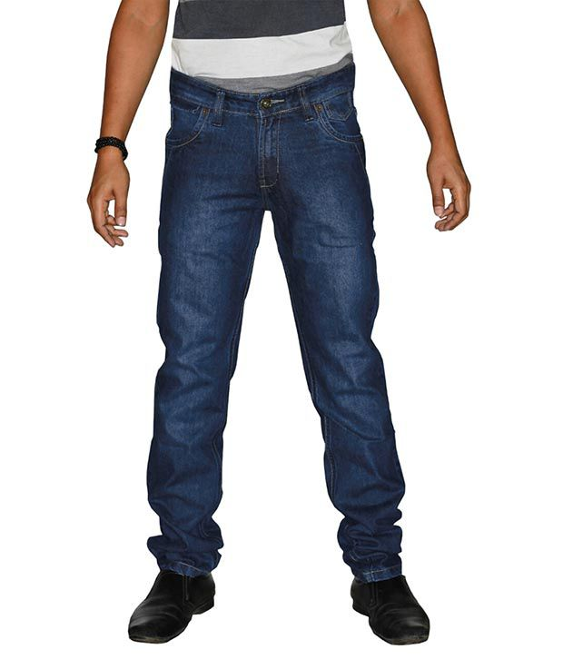 U.S. Rugby Stylish Faded Fashion Slim Fit Men's Jeans 902