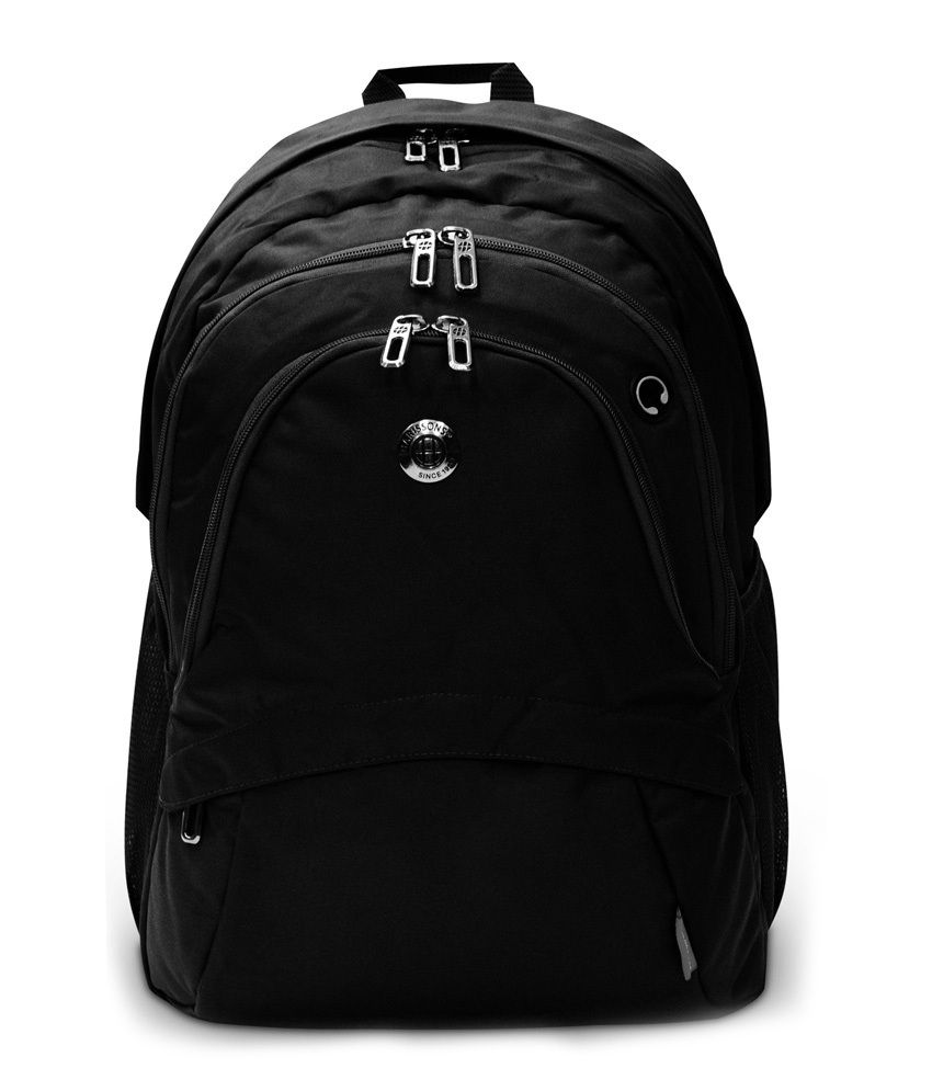 Mushroom 15.6 inch Laptop Backpack (Black)