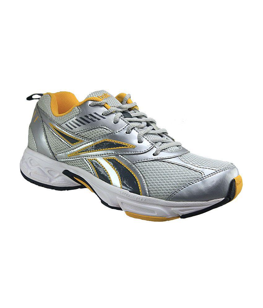 Reebok Silver Running Shoes