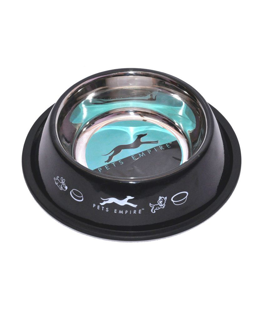 Petshop7 Black Stainless Steel Pet Bowls By Snapdeal @ Rs.245