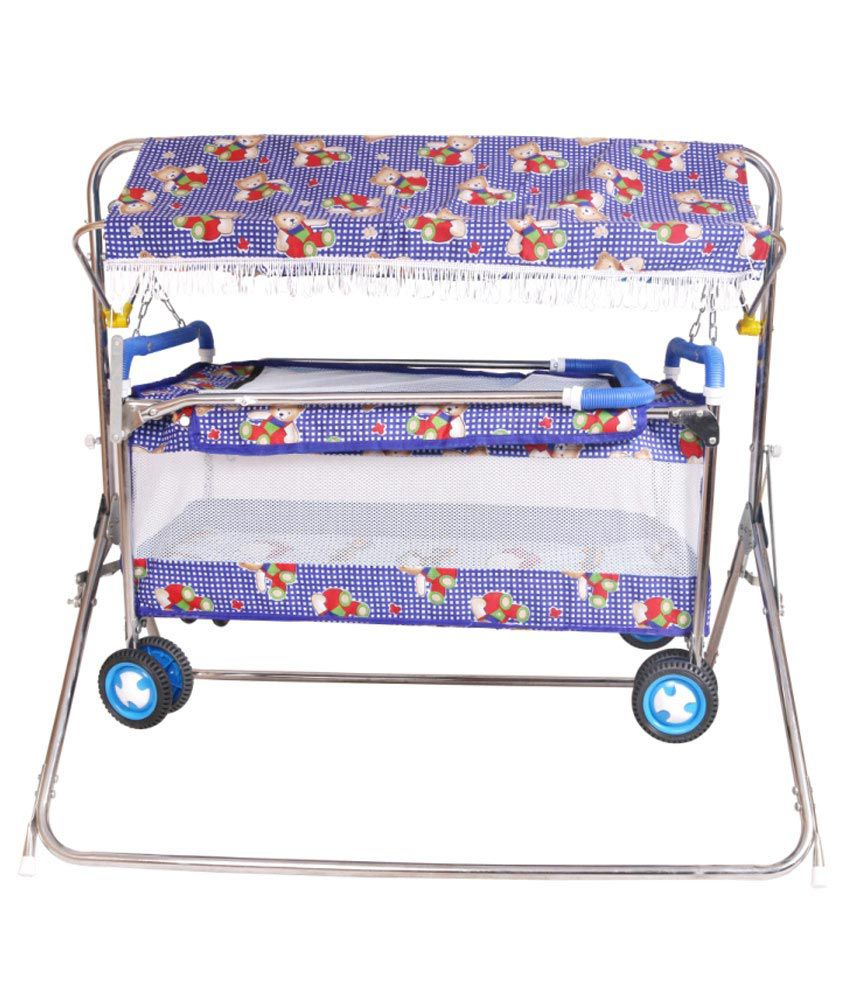 Baby bed online flipkart - Steelcraft Baby Cradle With Cot Best Quality Strollers