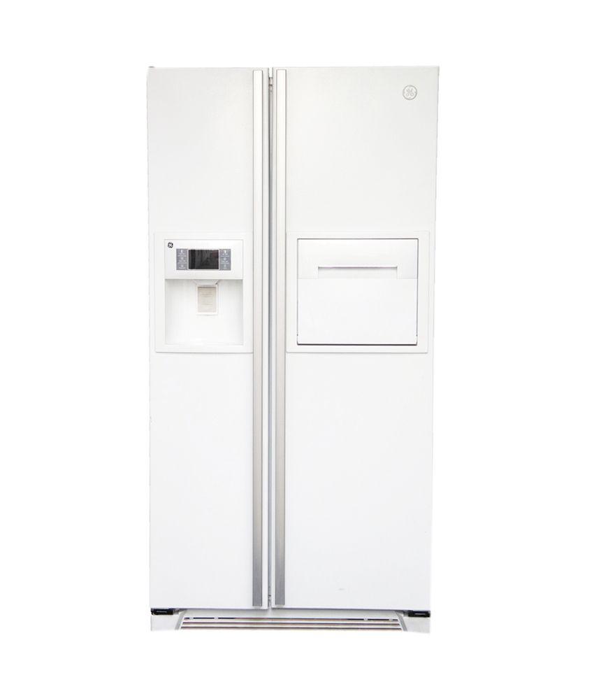 Ge Frost Free Double Door Refrigerator White Price In