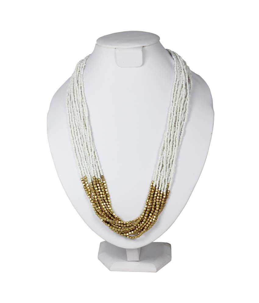 Kamz Long Beaded Ethnic Necklace  available at snapdeal for Rs.299