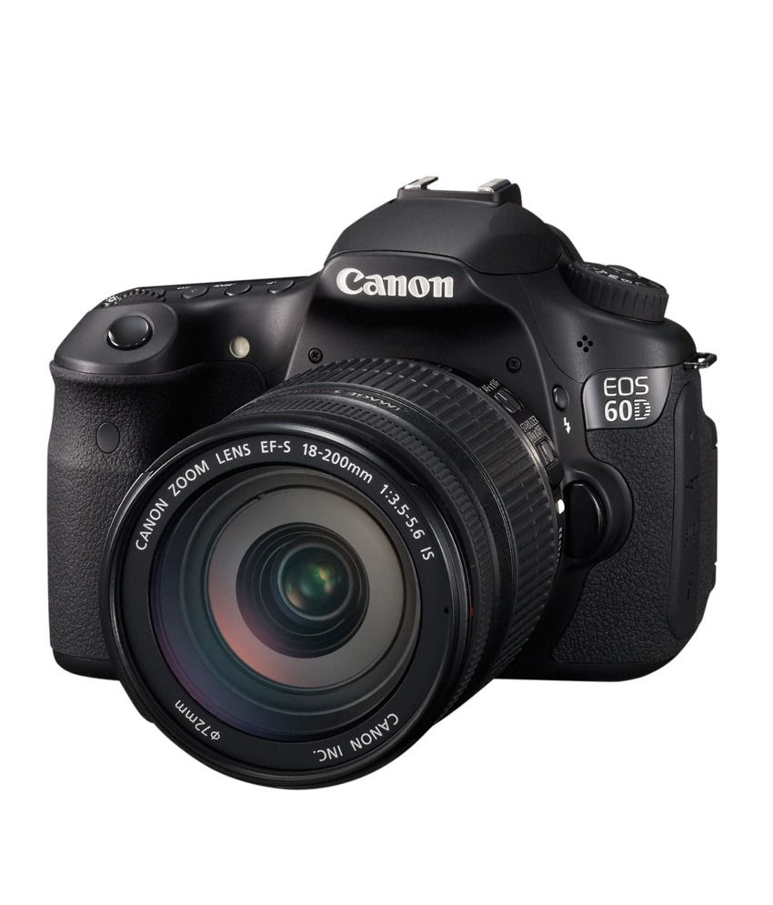 Canon EOS 60D with 18-200mm Lens