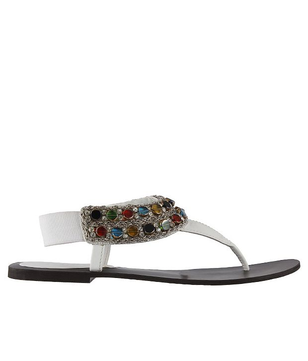 Metro Stunning White Sandals