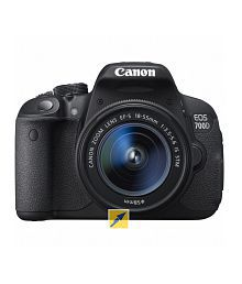 Canon 700D with EF-S 18mm-55mm IS II Lens , Memory card and Bag