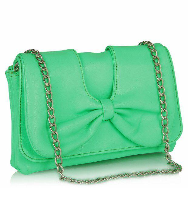 Butterflies Green Wallet