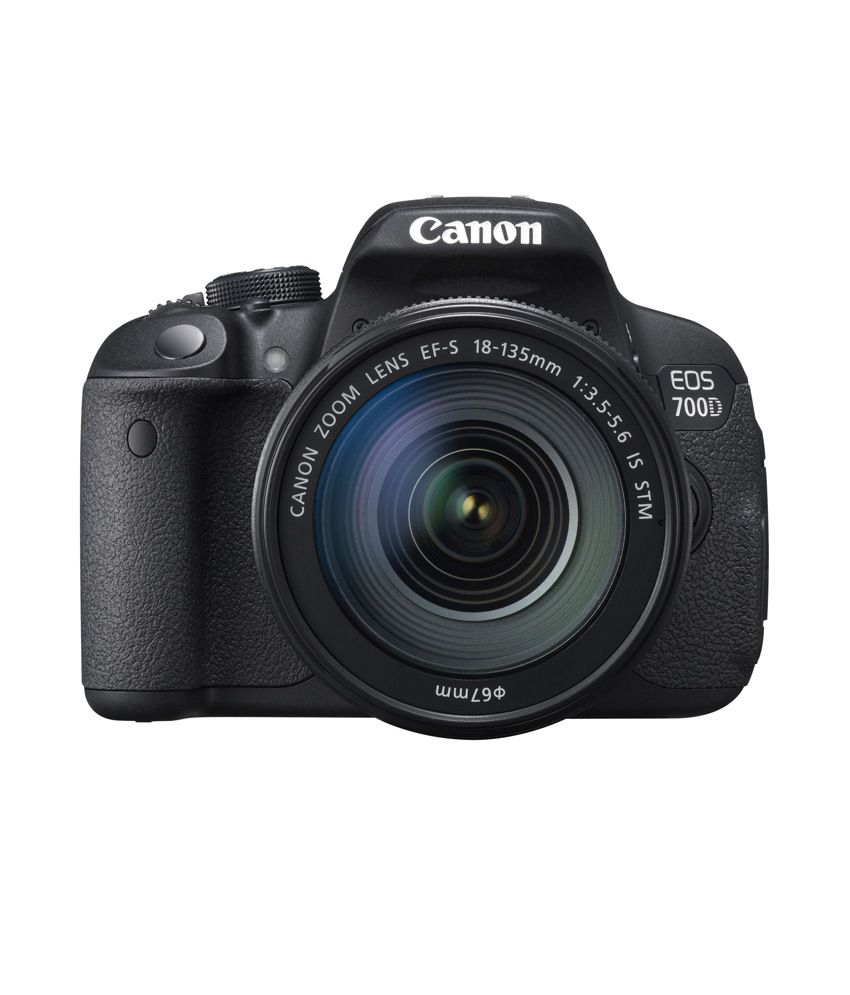 Canon 700D with EF-S 18mm-135mm IS STM Lens , Memory card and Bag