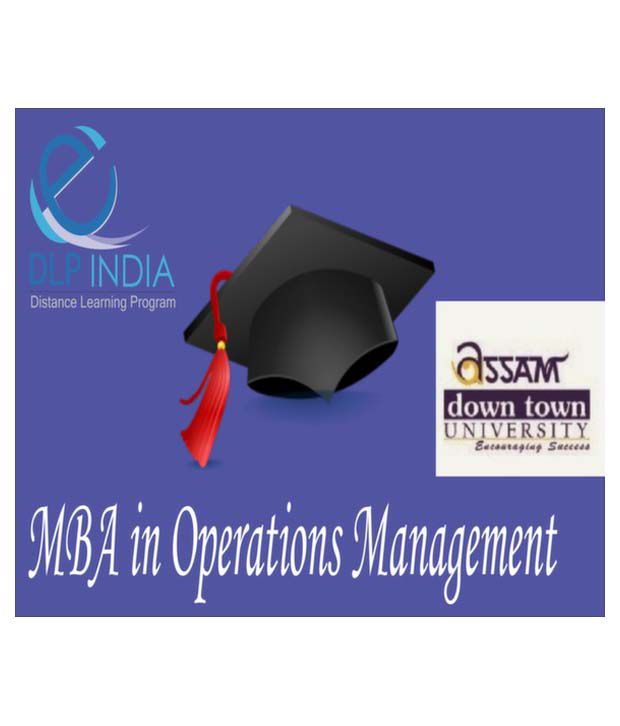 MBA in Operations Management by DLP India