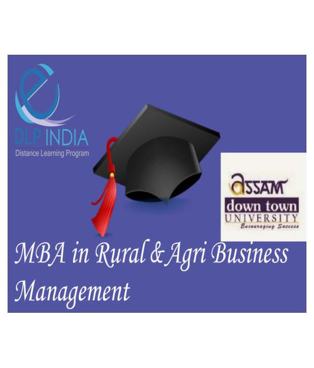 MBA in Rural and Agri Business Management by DLP India