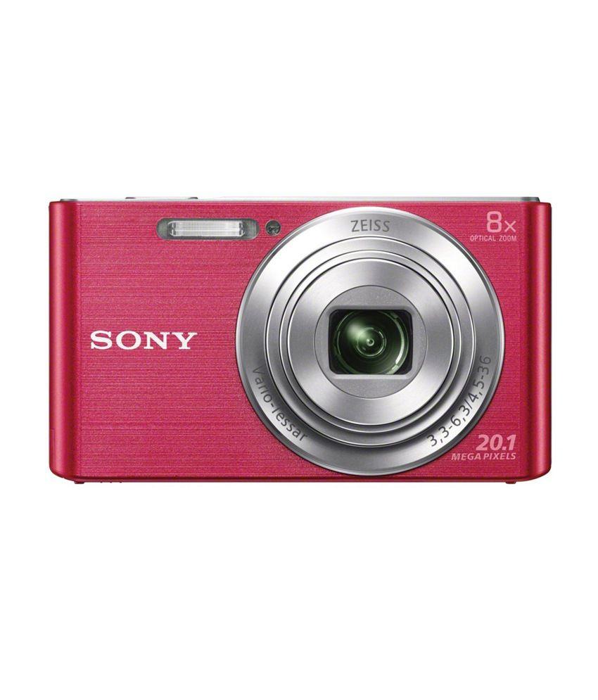 Sony Cybershot W830 20.1MP Digital Camera (Pink)