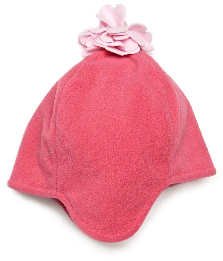UCB Kids Pink Woollen Kids Ear Warmer