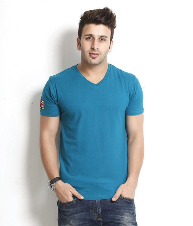 Gritstones Admirable Turquoise T Shirt