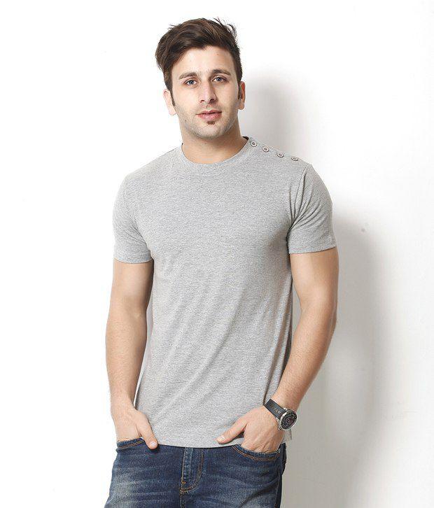 Gritstones Trendy Gray T Shirt