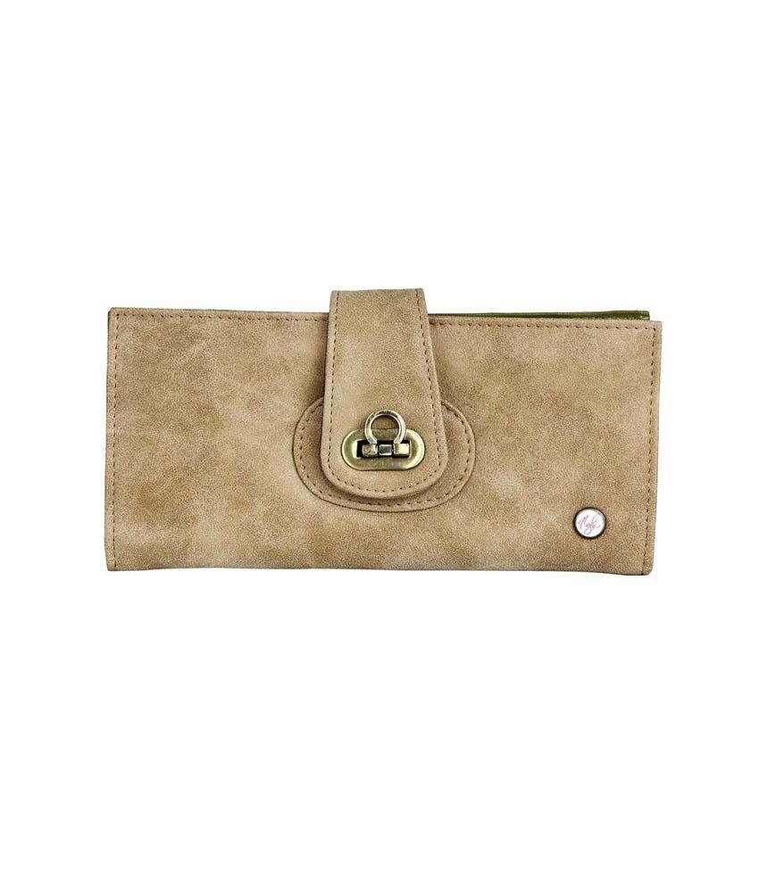 Nyk Pretty Beige Spacious Wallet