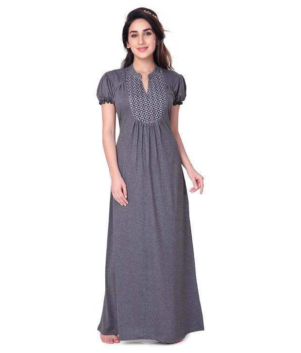 ad3916f190 Honeydew Cotton Nighty for Women - Free Size Price in India
