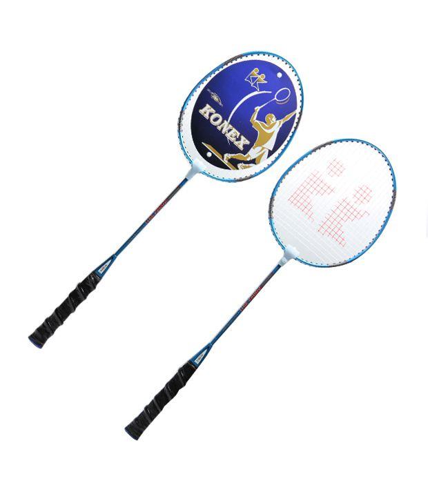 Konex Cl 410 Badminton Racket Pair (Pack Of 2)