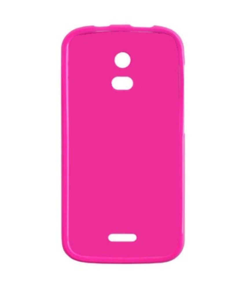 the latest 39663 d4303 Jo Jo Soft Silicon Back Case For Micromax Turbo Mini A200 Exotic Pink