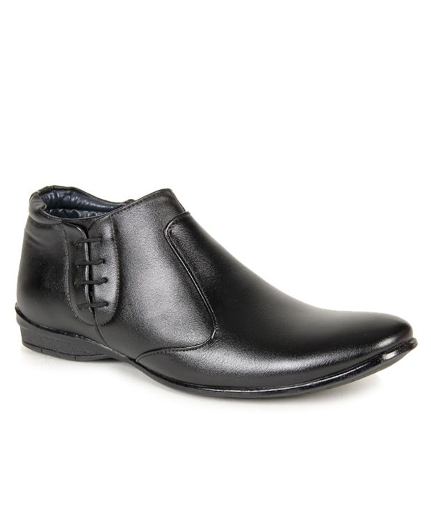 9ccdba9eaad Bacca Bucci Black Boots - Buy Bacca Bucci Black Boots Online at Best Prices  in India on Snapdeal