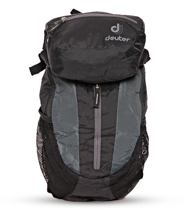 neuesten Stil von 2019 Farbbrillanz elegante Schuhe Deuter Wizard Black & Grey Travel Backpack