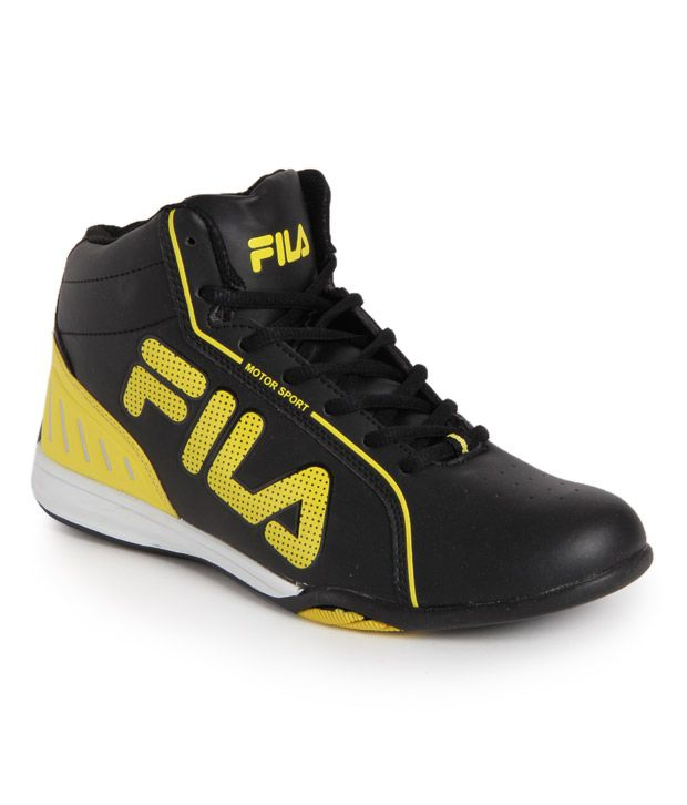Fila Black Smart Casuals Shoes Art FISONZO168201 ...